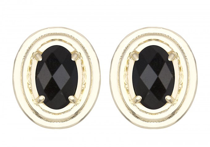 yurko-earring-gold-black