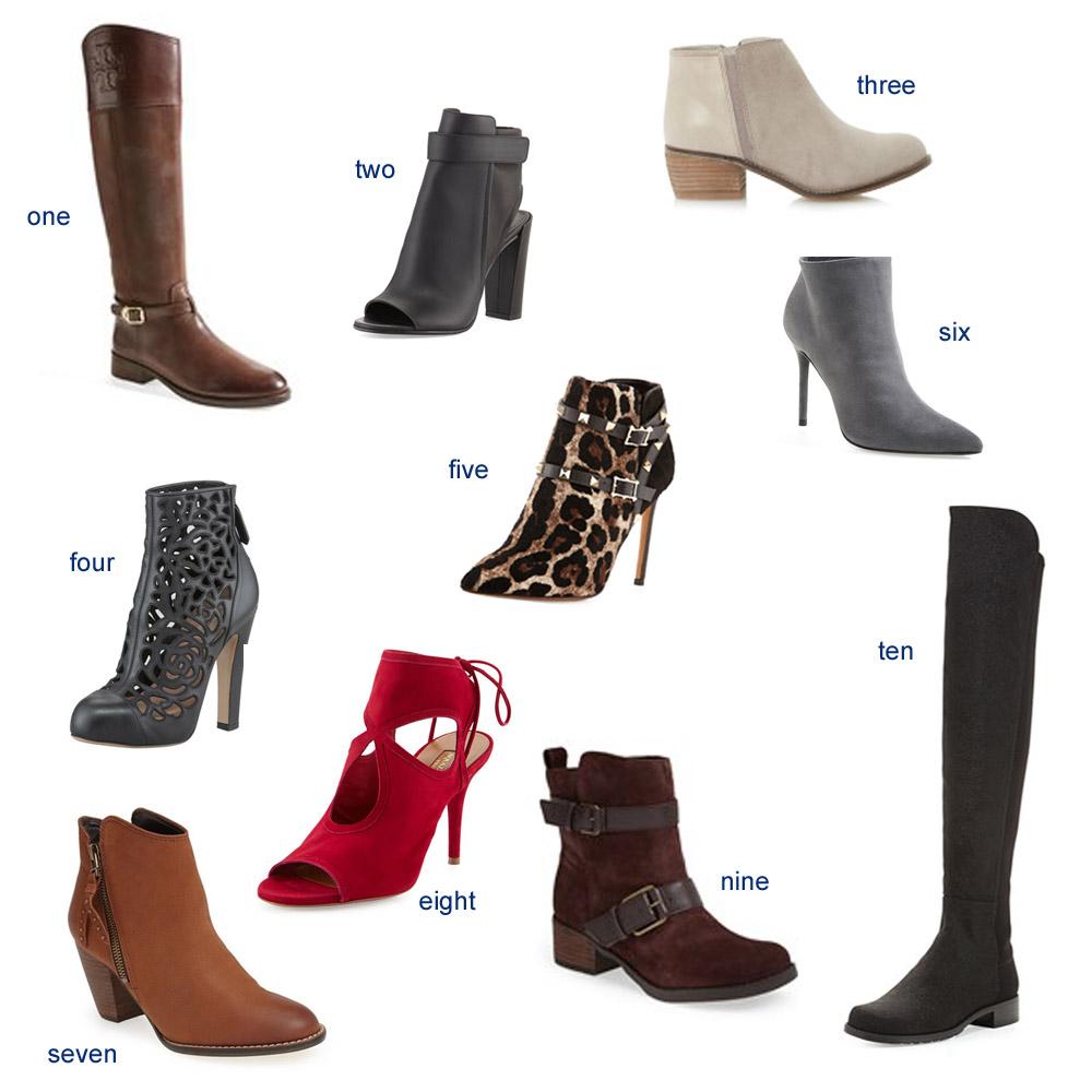 boot(ies)