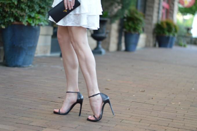 strappy summer heels