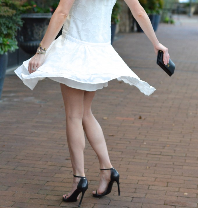 twirly skirted dress