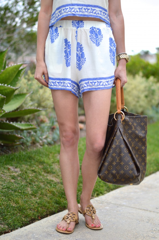 boho short set, casual summer dressing, summer style, matching separates, how to wear the boho trend