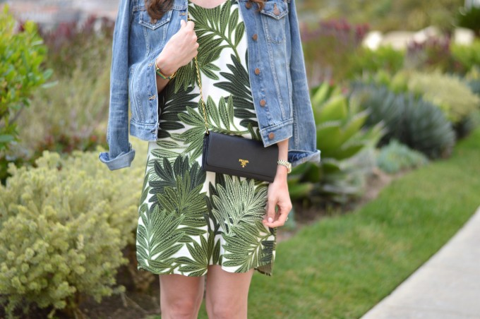 palm leaf print dress, summer style, summer dresses, resort style, resort dressing
