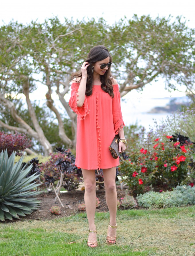 summer style, casual summer dresses, summer dresses under $50, off the shoulder dresses