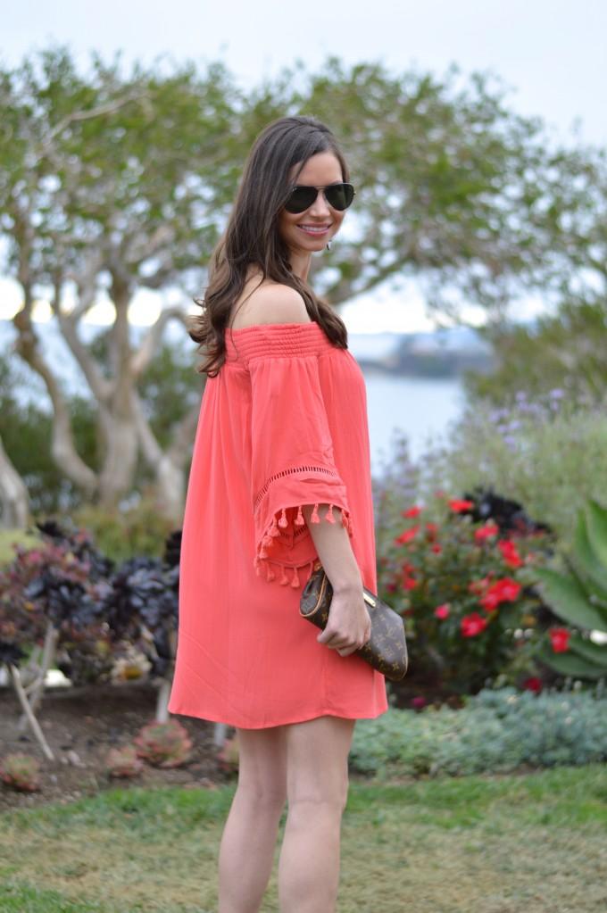 summer style, casual summer dresses, summer dresses under $50, off the shoulder dresses