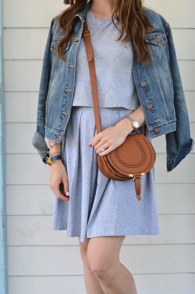 Chloe marcie handbag, casual summer style