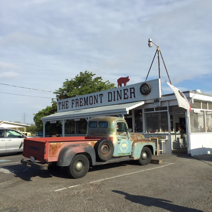 fremont diner sonoma, diners in wine country, sonoma valley getaway
