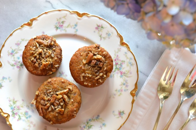 banana nut muffins, muffins with a twist, baking and entertaining, breakfast on the go, healthy recipes