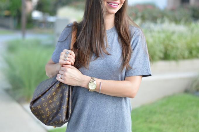 boyfriend watch, David Yurman bracelet, Kendra Scott ring