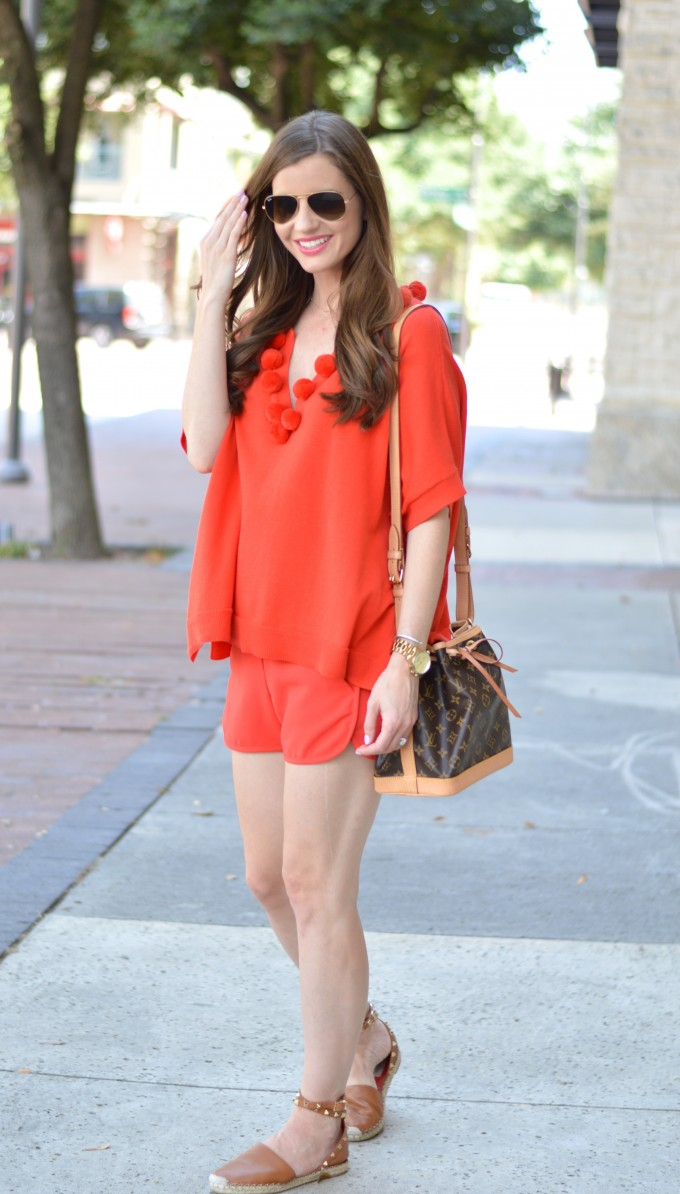 monochromatic look, matching separates, fall transitional style
