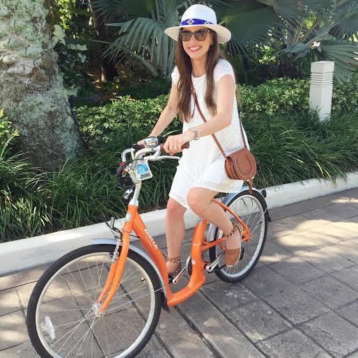 four seasons palm beach, biking around palm beach, babymoon