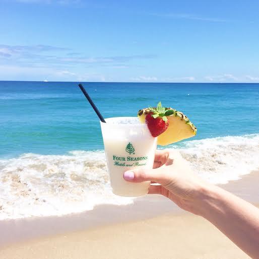 mocktails, four seasons palm beach