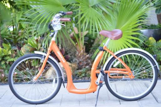 cute colored bike, cute beach cruiser, colorful beach bike