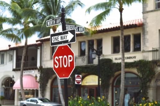 worth avenue palm beach, palm beach recap, shopping on worth avenue