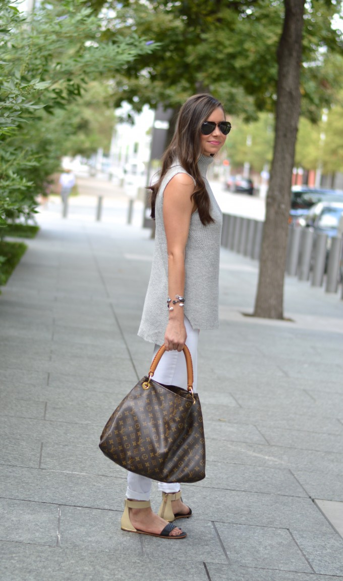 casual fall style, sleeveless sweaters for fall,