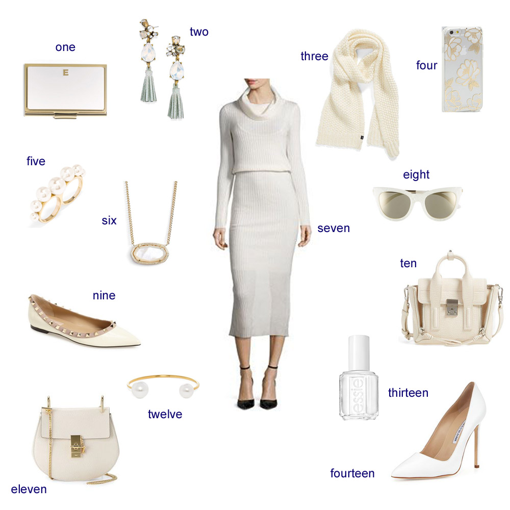 winter white, how to wear white in the winter,