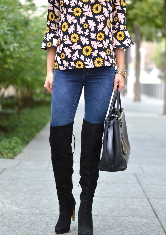 over the knee boots, how to wear over the knee boots,