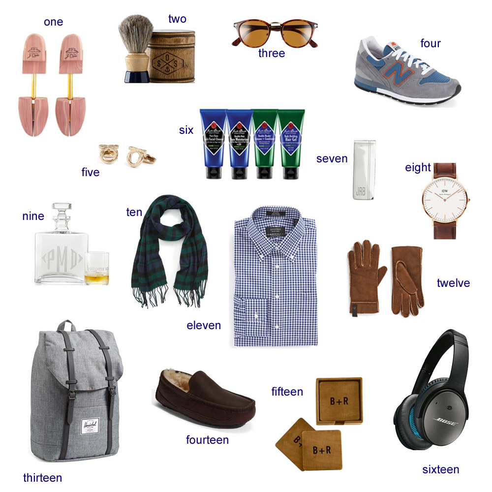 gift guide for him, for him, men's gift guide