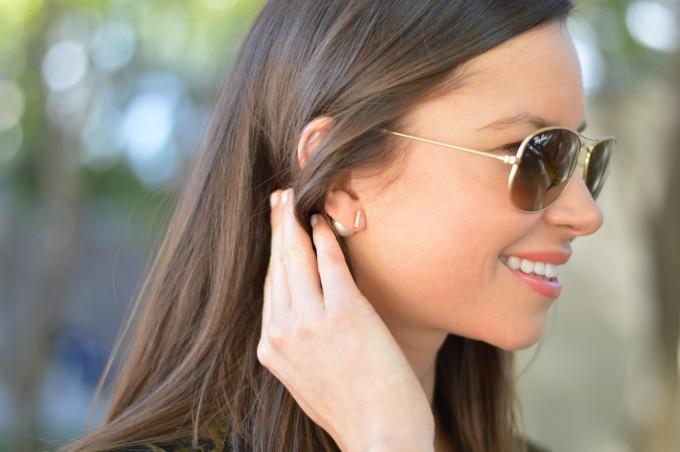 pearl earrings, 360 earrings, jewelry