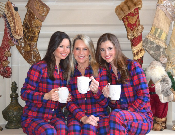 bishop and holland, christmas pajamas, merry christmas, dallas fashion blogger