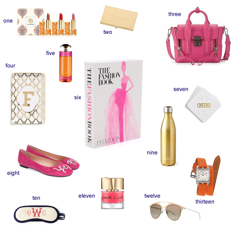 for the fashionista, what to buy for the fashionista, pink and gold, orange and gold, bishop and holland, dallas blogger