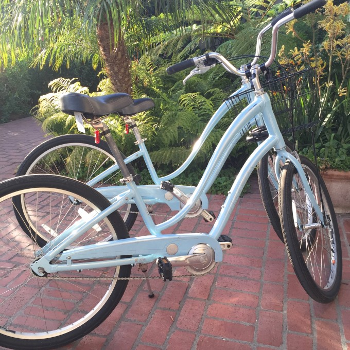 baby blue bikes, bike rental in santa barbara
