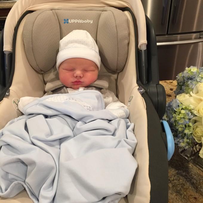 baby boy, newborn, uppababy mesa