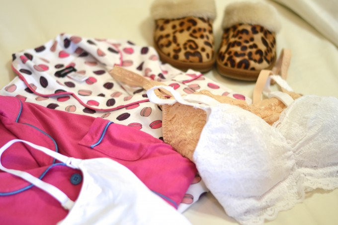 what is in my hospital bag, cosabella never say never nursing bra, maternity style