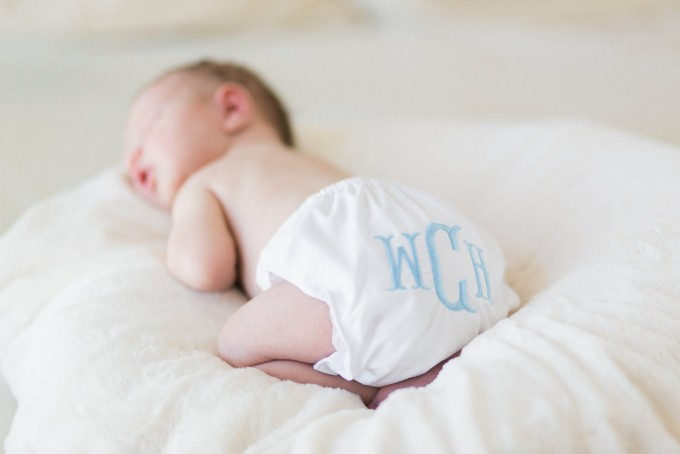 monogrammed swaddle, monogrammed bow swaddle