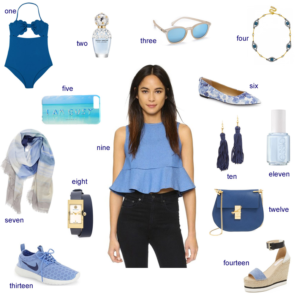 monday blues, shades of blue, marysia,