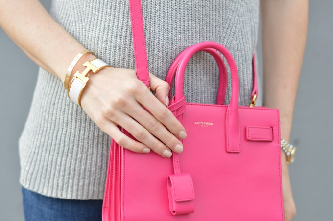 ht pink cross body bag