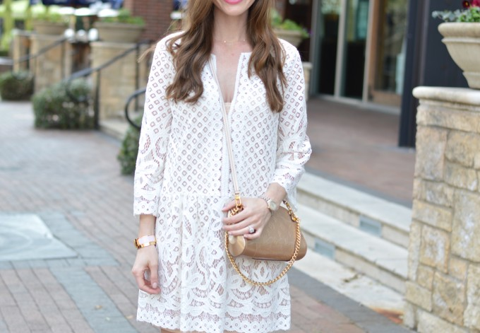 white lace dress,spring trends, spring trend lace