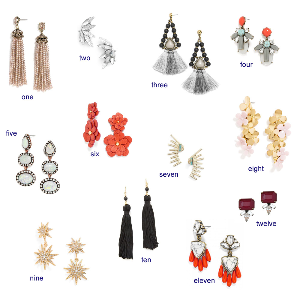 statement earrings, statement earrings under $50, bauble bar, dallas fashion blog, bishop and holland