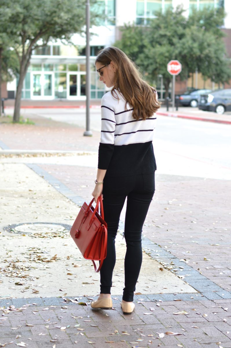dressing for spring, lightweight sweater for spring, casual spring style