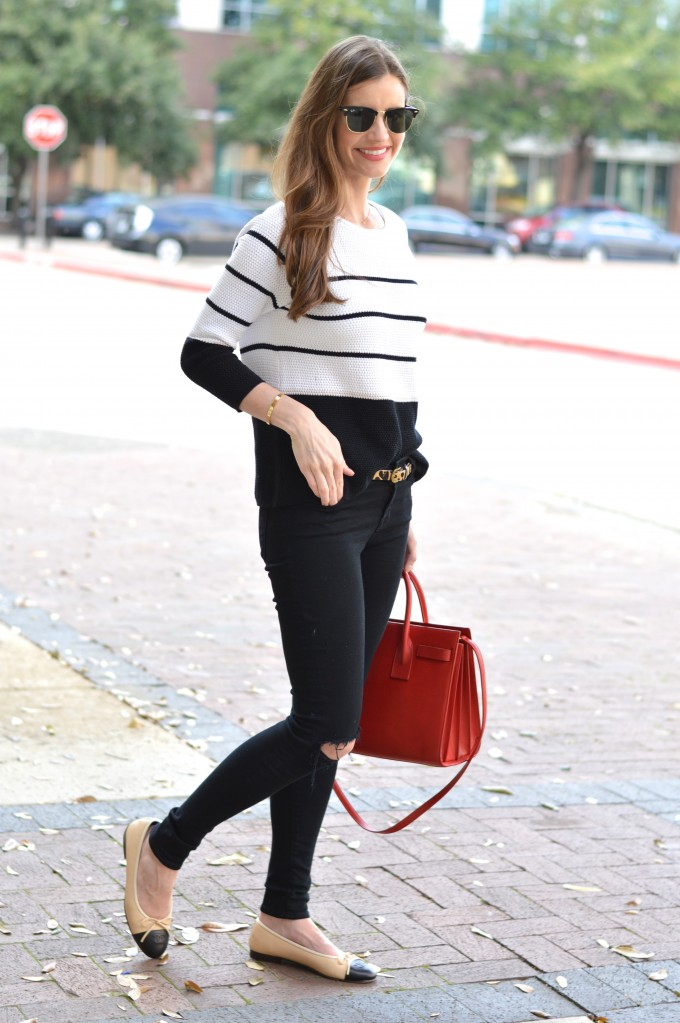 spring sweater, striped sweater for spring