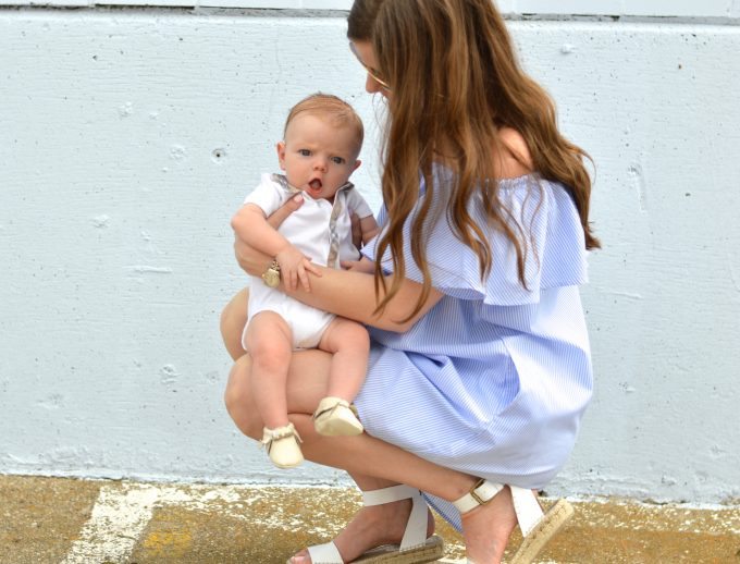 three months with William, three month baby update, life with a baby, burberry baby, freshly picked baby shoes
