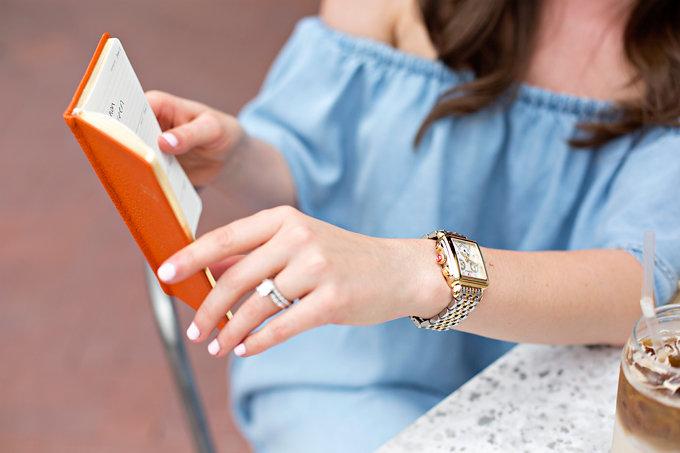 MICHELE watch, Gigi New York planner