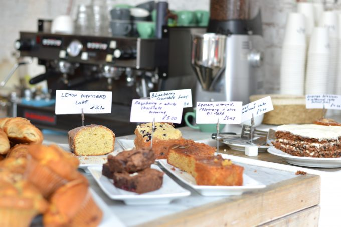 cute coffee shop in London