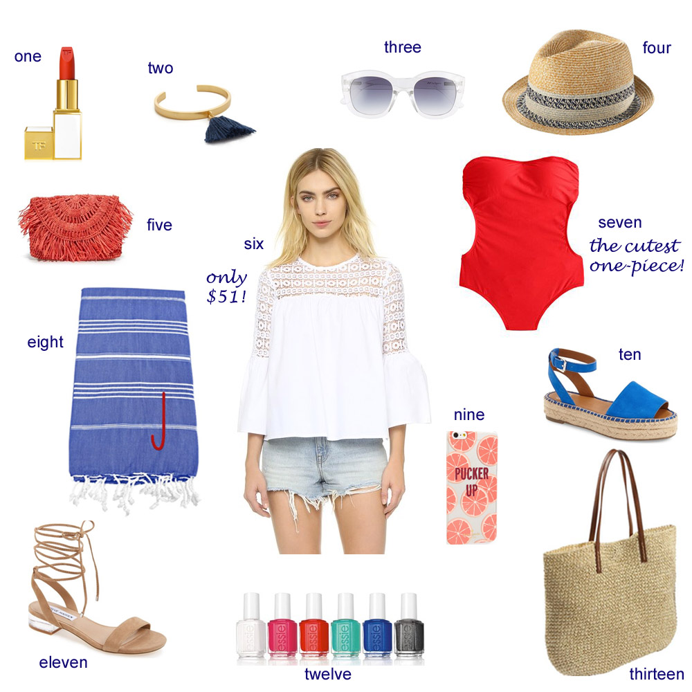 fourth of july, fourth of july under 100, what to wear for the fourth