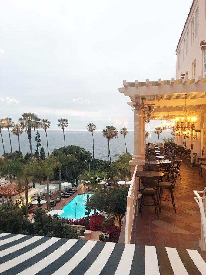 the med restaurant, la valencia hotel, destination wedding venue, restaurant with an ocean view