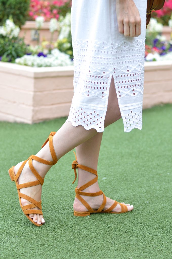 cognac lace up sandals, brown lace up sandals, suede lace up sandals