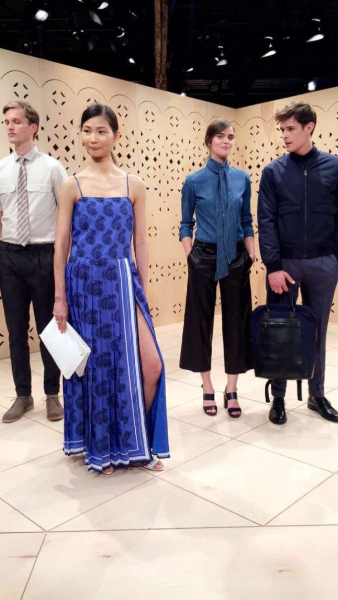 |see now, buy now at the banana republic presentation|