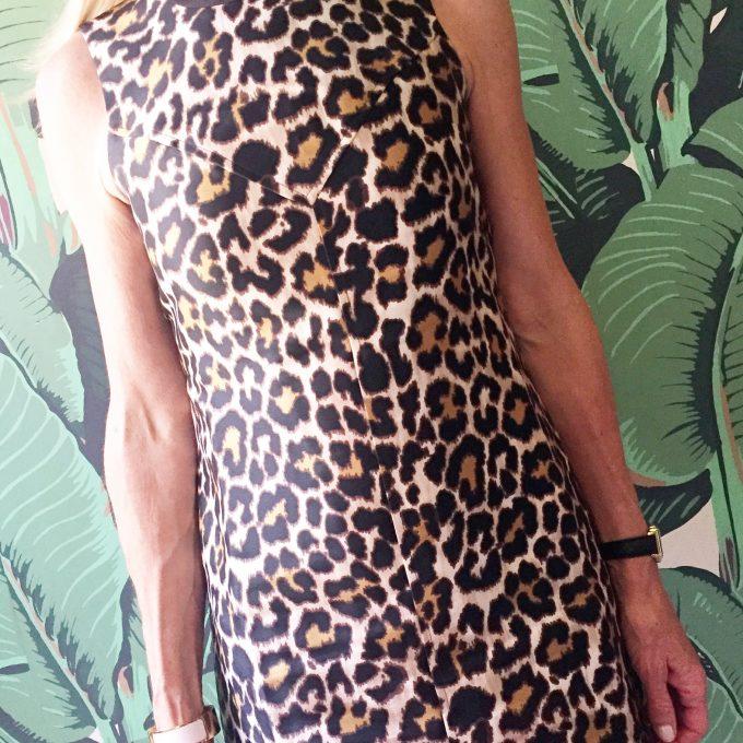 |leopard dress for the BURU brunch|