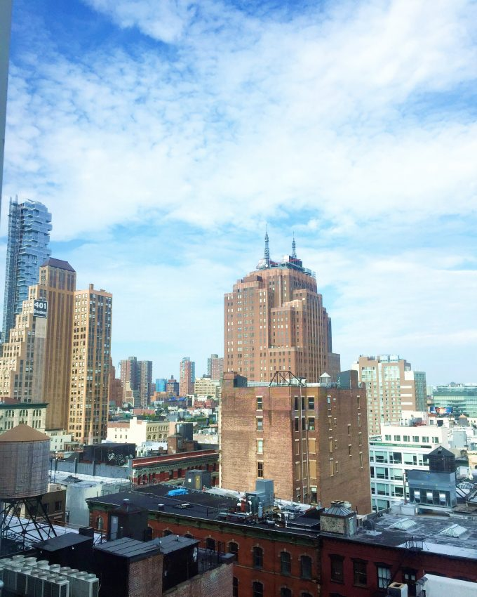 |room with a view from NOMO SOHO|