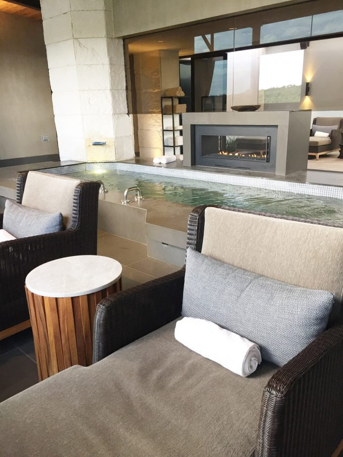 luxury spa interior