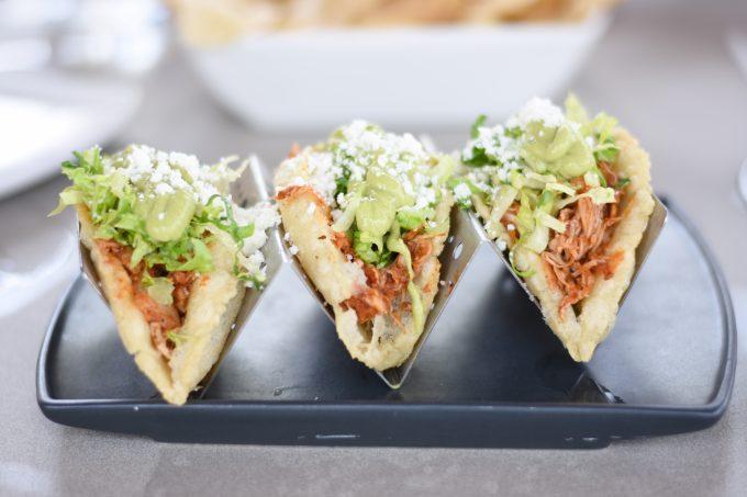puffy chicken tacos