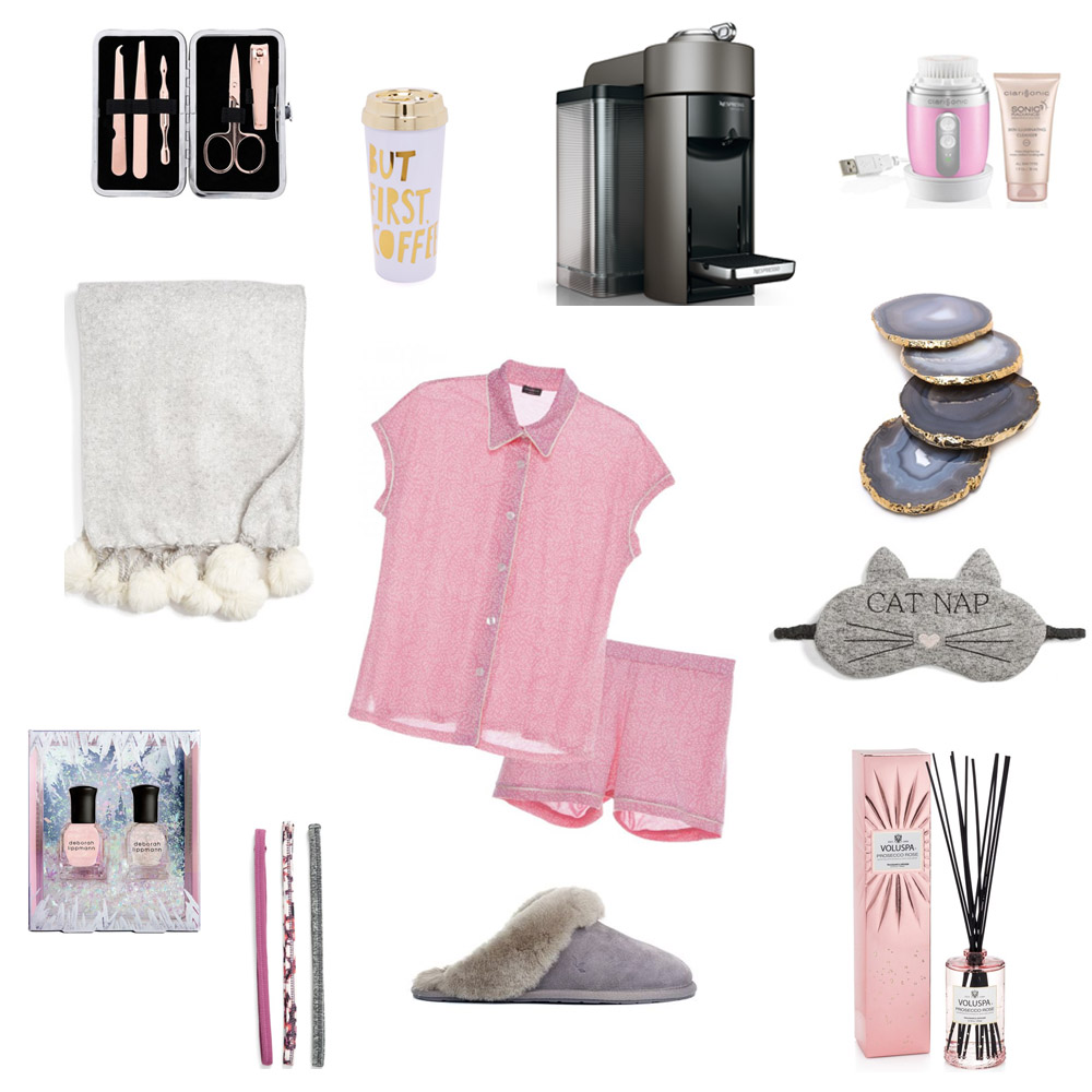 for the homebody, cosabella pajamas, nespresso, clarisonic