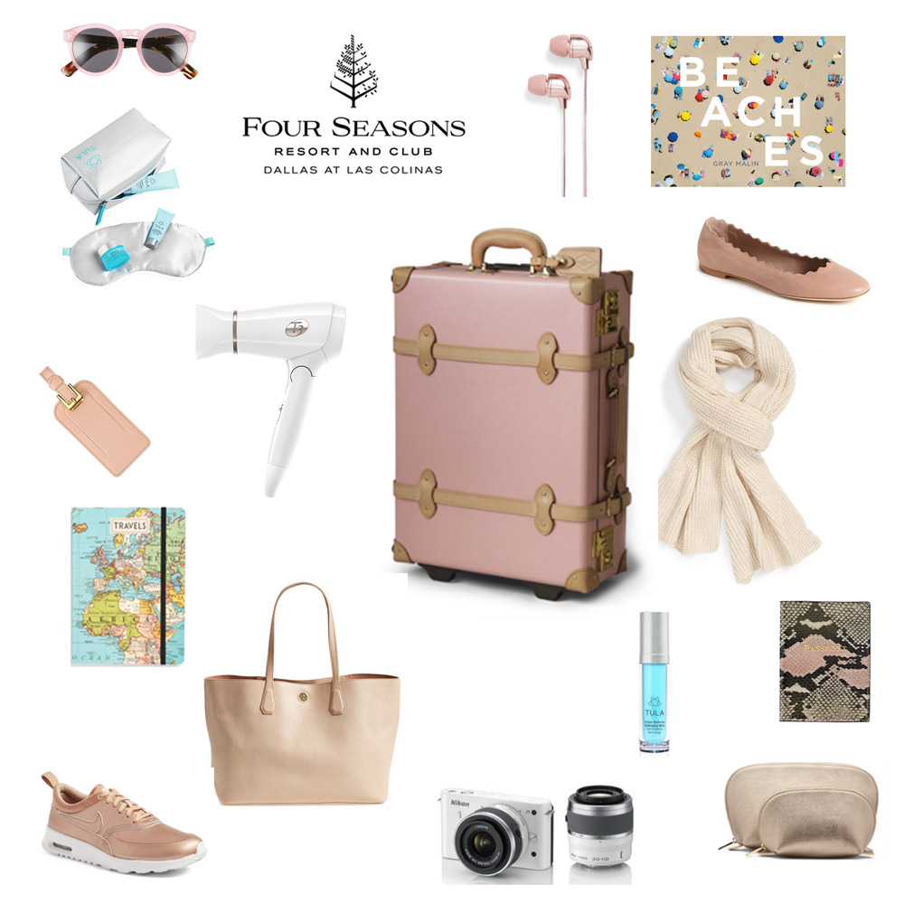 for the jetsetter, gifts for a frequent traveler, four seasons dallas