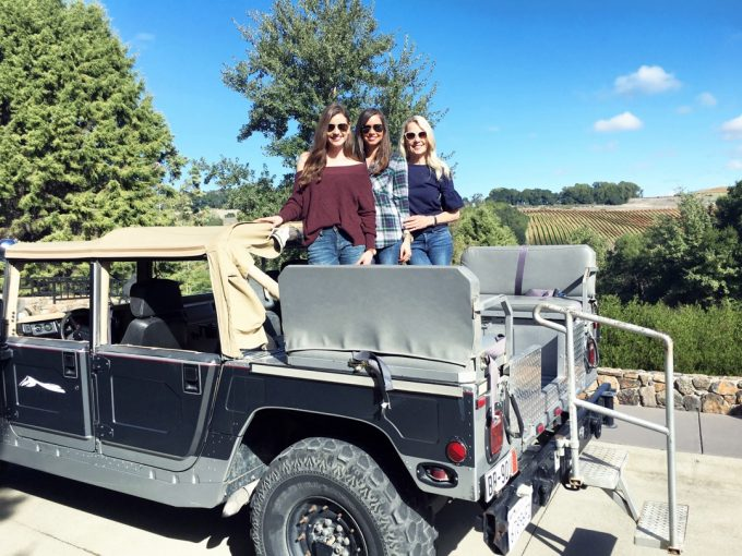 |hummer tour of the chalk hill estate|