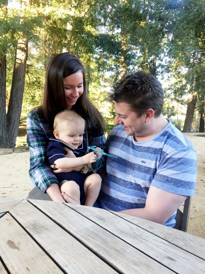 |william playing with aunt kat and uncle justin|
