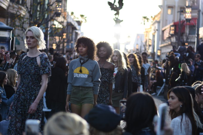 finale at a fashion show